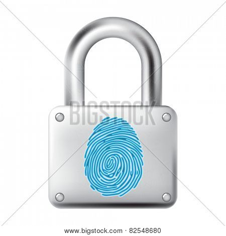 Finger Print metal lock