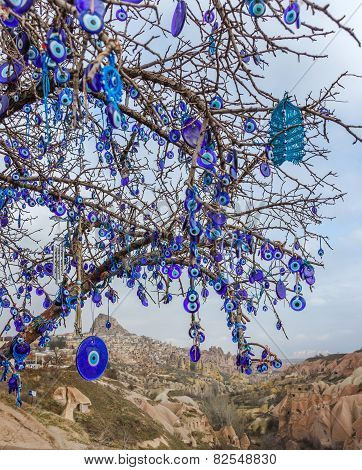 Evil Eye In Nevsehir