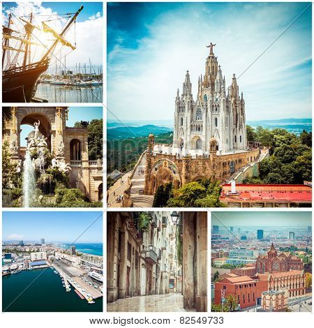 Set of photos from Barcelona. Spain