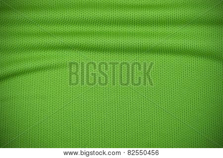 Sport Jersey Texture In Green