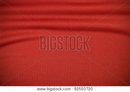 Red Sport Jersey Clothing Texture