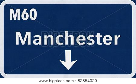 Manchester Highway Road Sign