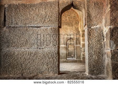Elephant Stables In Hampi
