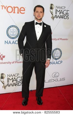 LOS ANGELES - FEB 6:  Matt McGorry at the 46th NAACP Image Awards Arrivals at a Pasadena Convention Center on February 6, 2015 in Pasadena, CA