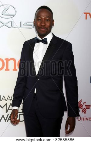 LOS ANGELES - FEB 6:  Lamorne Morris at the 46th NAACP Image Awards Arrivals at a Pasadena Convention Center on February 6, 2015 in Pasadena, CA