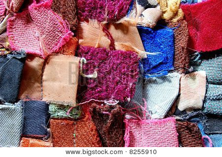 carpet patchwork fabric