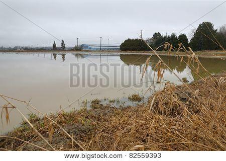 Agriculture Farmland Flooding