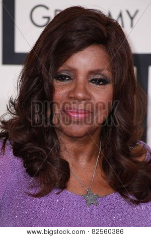 LOS ANGELES - FEB 8:  Gloria Gaynor at the 57th Annual GRAMMY Awards Arrivals at a Staples Center on February 8, 2015 in Los Angeles, CA