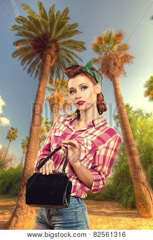 Pin Up Vintage Retro Lifestyle