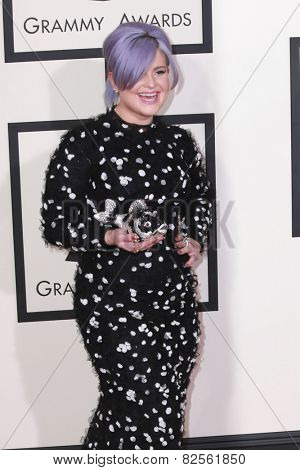 LOS ANGELES - FEB 8:  Kelly Osbourne at the 57th Annual GRAMMY Awards Arrivals at a Staples Center on February 8, 2015 in Los Angeles, CA