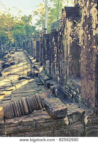 Angkor Temples ancient ruins, Cambodia