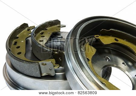 Brake shoes and drums