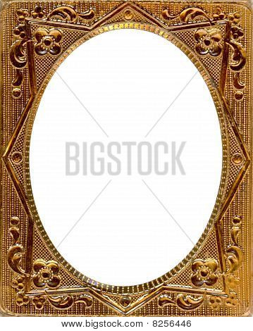Daguerreotypie Frame with Clipping path