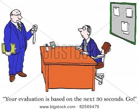 30 Second Performance Review