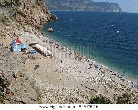 Vasili Beach In Balaclava