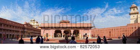 Diwan-i-khas, City Palace, Jaipur, India.