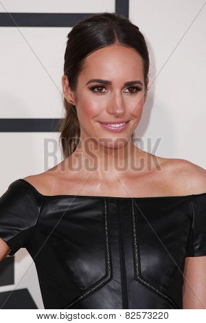 LOS ANGELES - FEB 8:  Louise Roe at the 57th Annual GRAMMY Awards Arrivals at a Staples Center on February 8, 2015 in Los Angeles, CA