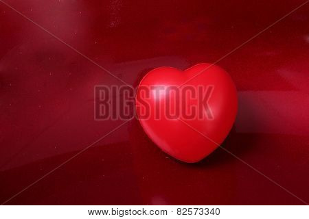 red heart, health, valentine's day