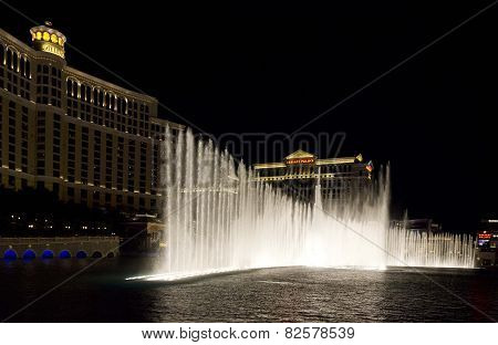 Bellagio Waterworks in Las Vegas