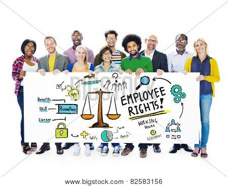 Employee Rights Employment Equality Job People Banner Concept