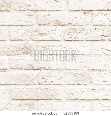 Brick Wall, Vector Illustration