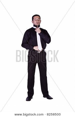 Businessman Dressing Up