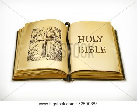Bible, vector illustration