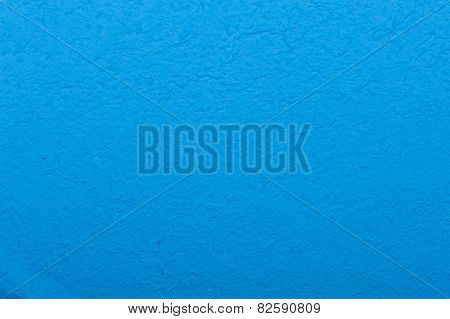 Blue Mulberry Paper Abstract Background