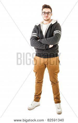 Fashionable Hoodie Boy