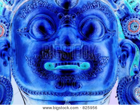 tibetan budddah inverted
