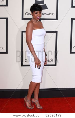 LOS ANGELES - FEB 8:  Jennifer Hudson at the 57th Annual GRAMMY Awards Arrivals at a Staples Center on February 8, 2015 in Los Angeles, CA