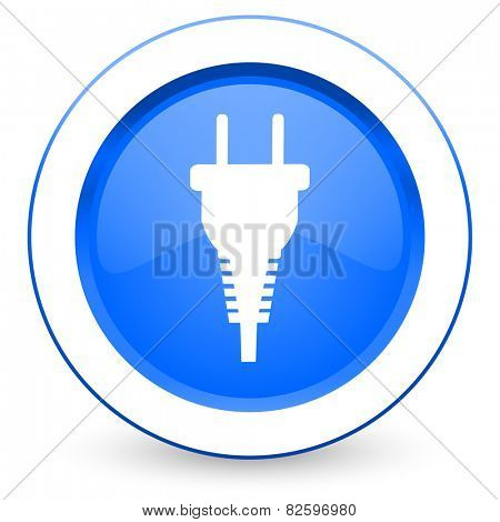 plug icon electric plug sign