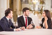 picture of business-partner  - Business lunch - JPG