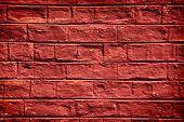 pic of marsala  - Brick wall texture marsala color - JPG