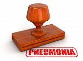 pic of pneumonia  - Rubber Stamp pneumonia - JPG