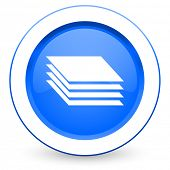 image of gage  - layers icon gages sign  - JPG