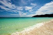 picture of boracay  - Beach in Boracay Island in the Philippines - JPG