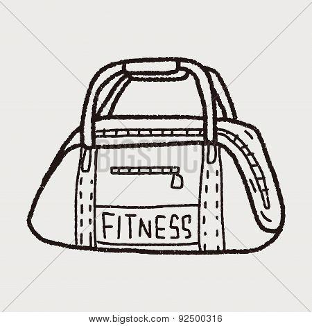 Sport Bag Doodle