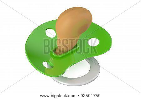 Green Pacifier