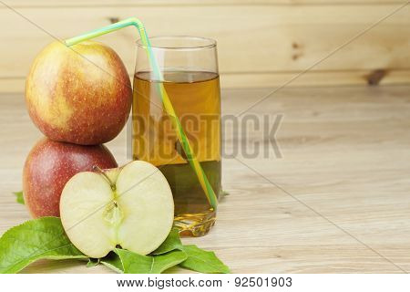 fresh apple juice, cool summer refreshment, diet drink