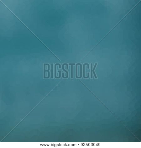 Abstract Cloudy Turquoise Blue Pattern Background