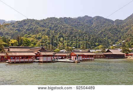Itsukushima Shinto Shrine (xvi C.), Japan. Unesco Site