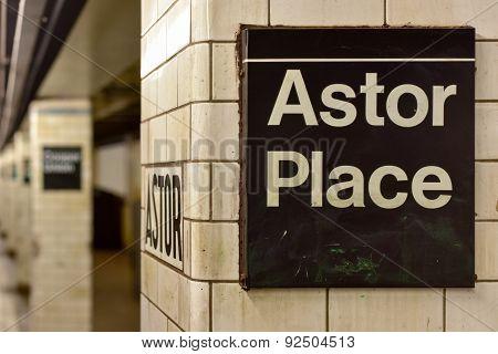 Astor Place Subway Station - New York City