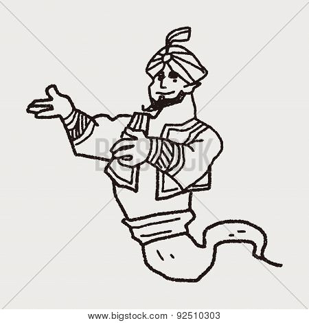 Aladdin Doodle