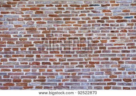 Brick wall background.