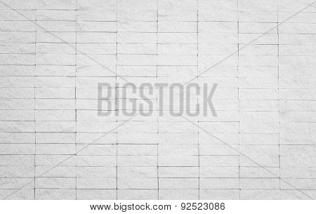 Marble brick wall t background in natural patterned and color for design.