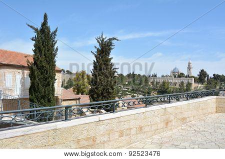 Mishkenot Sha'ananim In Jerusalem, Israel