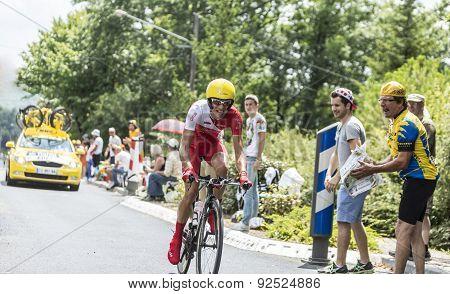 The Cyclist Nicolas Edet