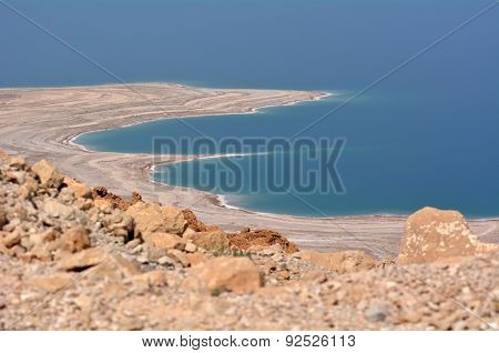 Landscape Of The Dead Sea Israel