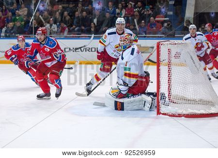 H. Karlsson (1), Goaltender Of Yokerit Team